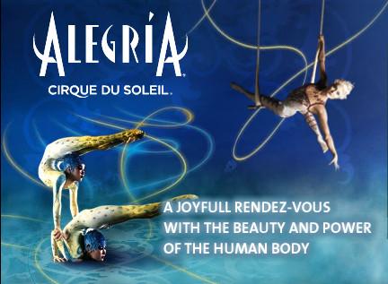 Alegri Cirque du soleil Alegria