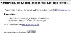 Google badware service