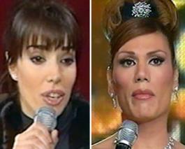 Laura fidalgo y Florencia de la V